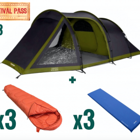 3 x Festival Package